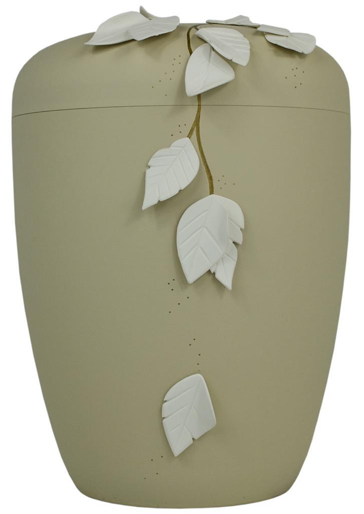 """Biourne glint-seashell, Design """"fallende Blätter 3D"""""""