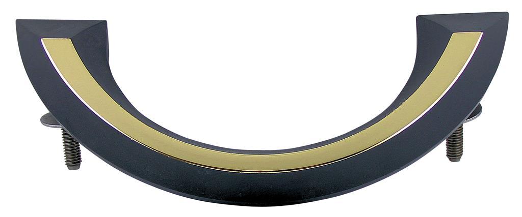 Griffgarnitur mit Zubehör 32K & 55K, Kunststoff, altmessing-geprägt