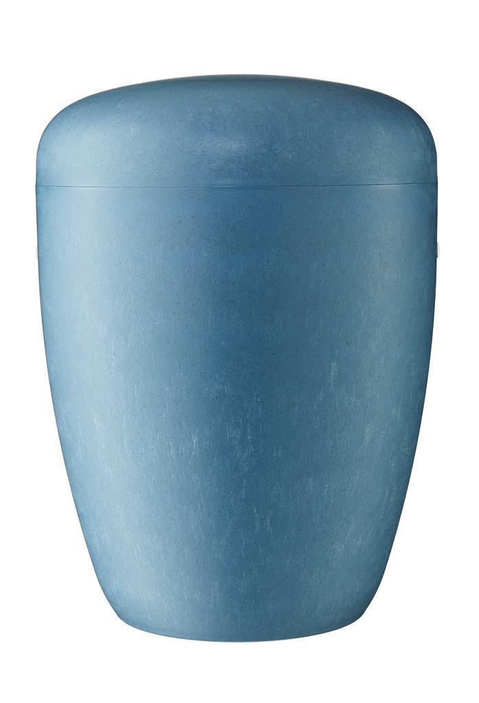 Biourne, blau eingefärbt